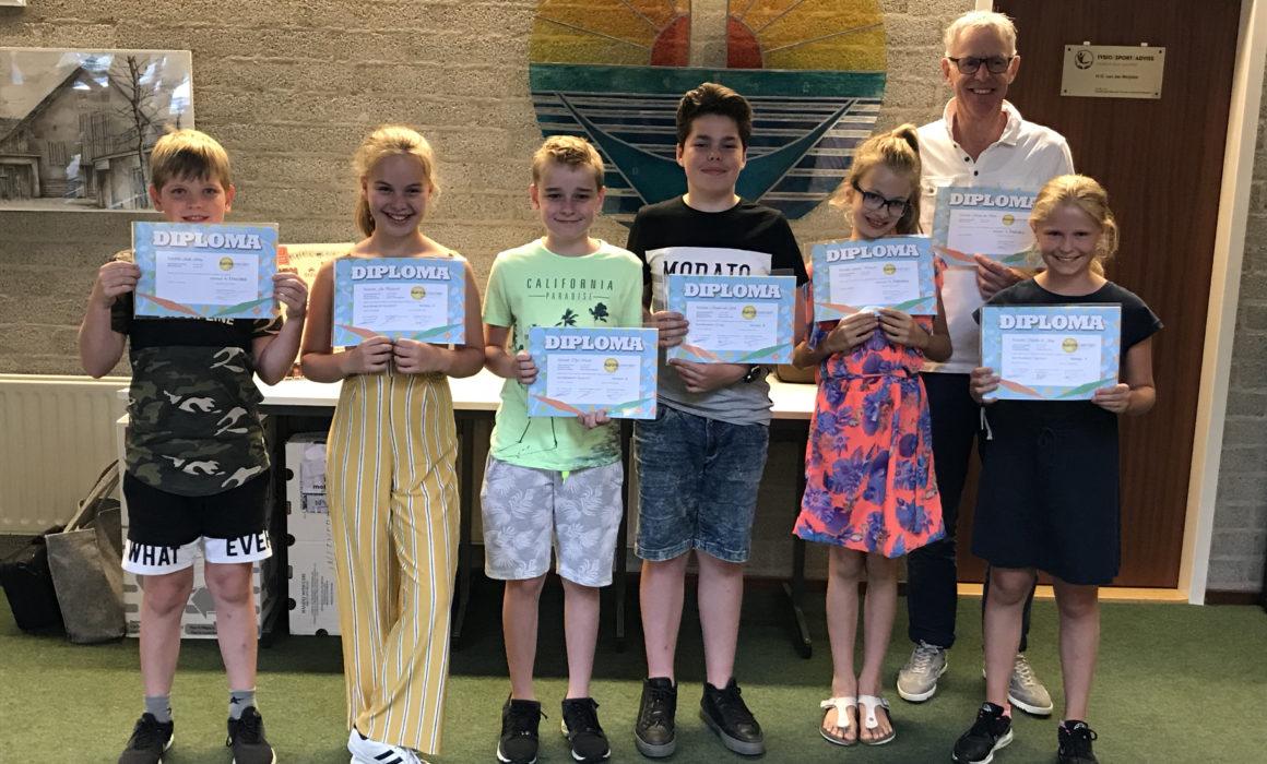 diplomas 2017, muziekschool Aurora Leerdam